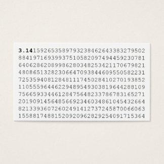 Pi Celebrate 3.14 Pi Day Business Card