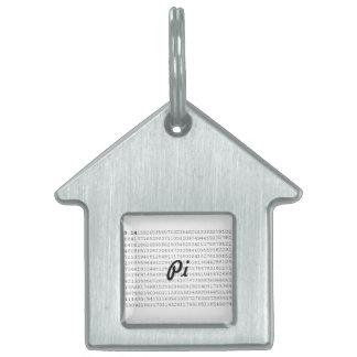 Pi Celebrate 3.14 Pi Day Pet Name Tag