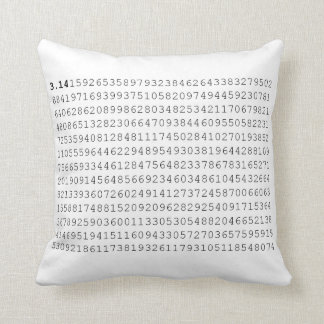 Pi Celebrate 3.14 Pi Day Throw Pillow