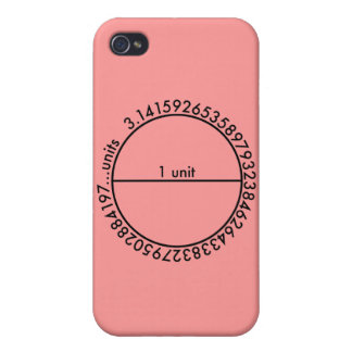 Pi Circle Case For iPhone 4