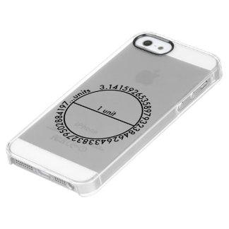 Pi Circle Clear iPhone SE/5/5s Case