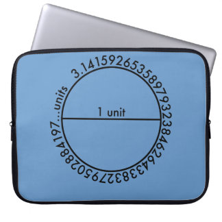 Pi Circle Laptop Sleeve