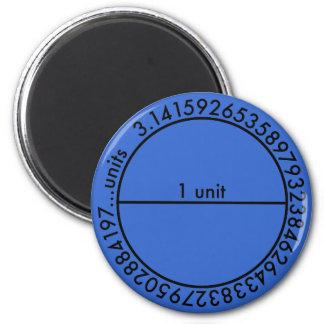 Pi Circle Magnet
