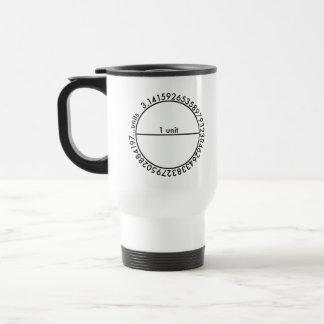 Pi Circle 15 Oz Stainless Steel Travel Mug
