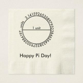 Pi Circle Napkin