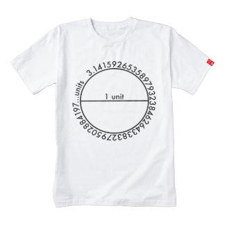 Pi Circle Zazzle HEART T-Shirt