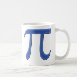 Pi Classic White Coffee Mug