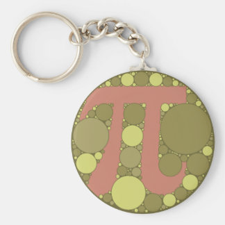 Pi Colorblind Colors Keychain