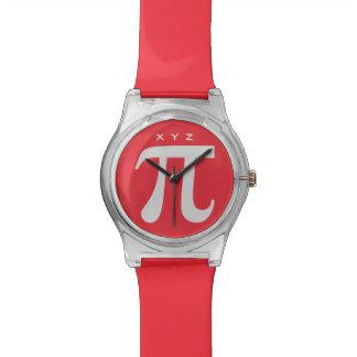 Pi custom monogram watches