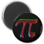 Pi Dark Disco Refrigerator Magnet