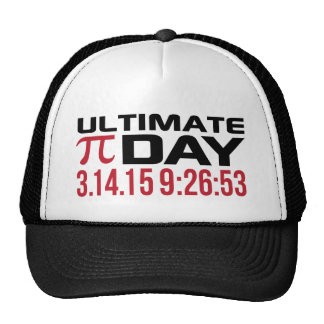 Pi Day 2015 3.14.15 9:26 Math T-Shirts and Gifts Trucker Hats
