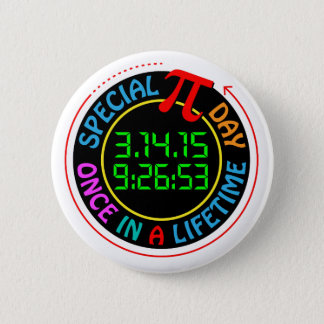 Pi Day 2015 Button