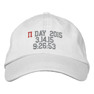 Pi Day 2015 Personalized Adjustable Hat