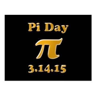 Pi Day 2015 Postcard