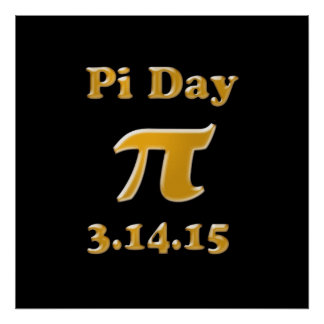 Pi Day 2015 Poster
