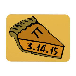 Pi day 2015 rectangular photo magnet