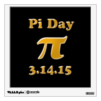 Pi Day 2015 Wall Decal