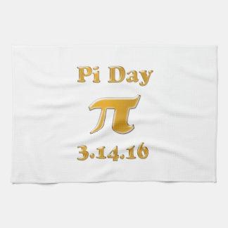Pi Day 2016 Hand Towel