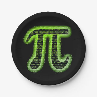 Pi Day 2016 Paper Plate