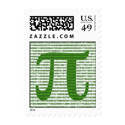 Pi Day 3.14 Stamps