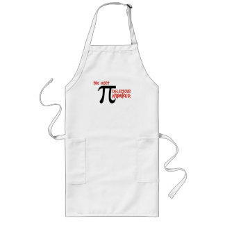 Pi Day 3.14 - The Most Delicious Number Long Apron