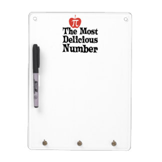 Pi Day 3.14 - The Most Delicious Number Dry Erase Board