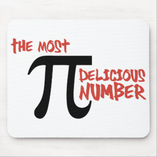 Pi Day 3.14 - The Most Delicious Number Mouse Pad