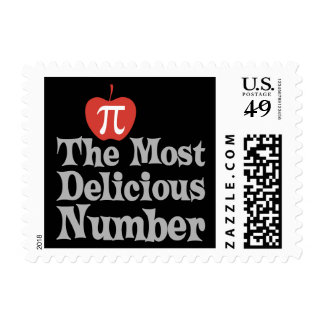 Pi Day 3.14 - The Most Delicious Number Stamp