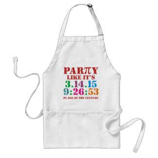 Pi day apron ultimate 2015 3.14.15 9:26:53 BBQ Standard Apron