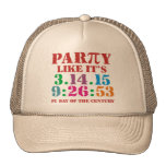 Pi day cap hat ultimate 2015 3.14.15 9:26:53 trucker hat