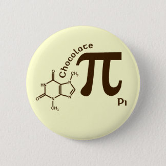 Pi Day Chocolate Pi Button