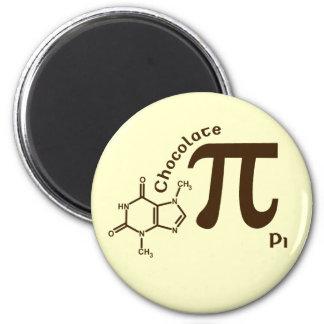 Pi Day Chocolate Pi Magnet
