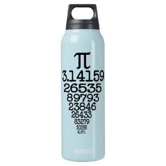 Pi Day compleye 3.14 Insulated Water Bottle