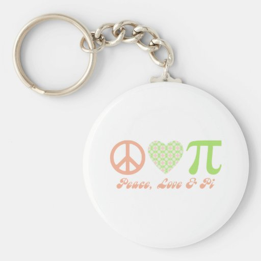 Pi Day Gifts and Tees Keychains