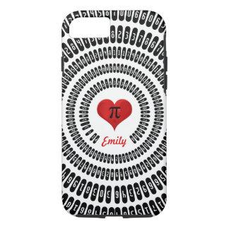 Pi Day Heart Math Digits 3.14 Mathematics Funny iPhone 7 Case
