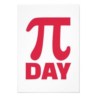 Pi Day Invite