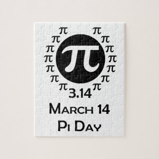 pi day jigsaw puzzle