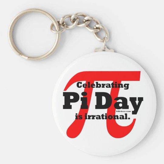 Pi Day Keychain