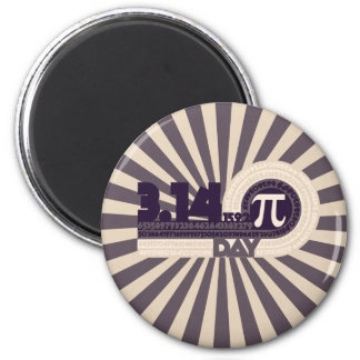 Pi Day Refrigerator Magnet