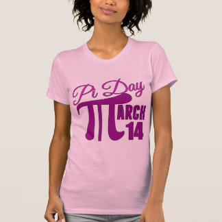 Pi Day March 14 Tee Shirt