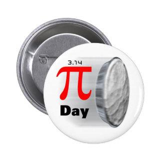 Pi Day - March 14th Button
