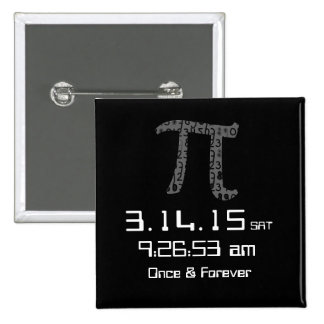 Pi Day March 2015 Custom design Button