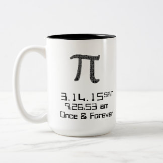 Pi Day March 2015 Custom design Mug