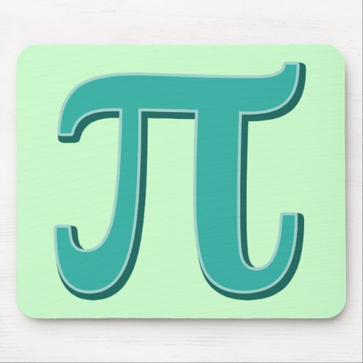 Pi Day Math geek Mouse Pad