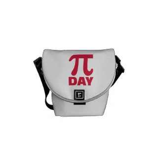 Pi Day Courier Bags