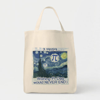 Pi Day Never Ends by Mudge Studios Bags