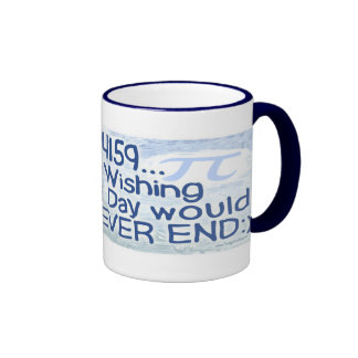 Pi Day Never Ends by Mudge Studios Mugs