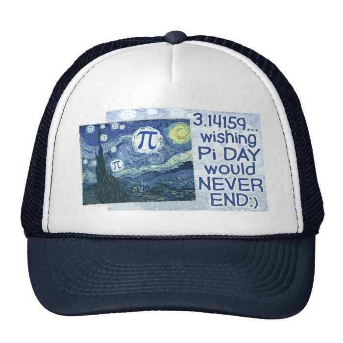 Pi Day Never Ends by Mudge Studios Trucker Hat