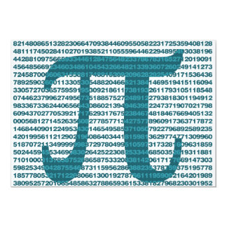 Pi Day numbers 5x7 Paper Invitation Card