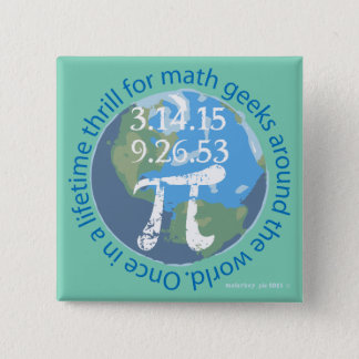 Pi Day of Lifetime Pinback Button